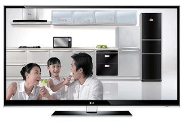 LG 47LX9500-CA 47英寸IPS硬屏主动式3D立体电视机