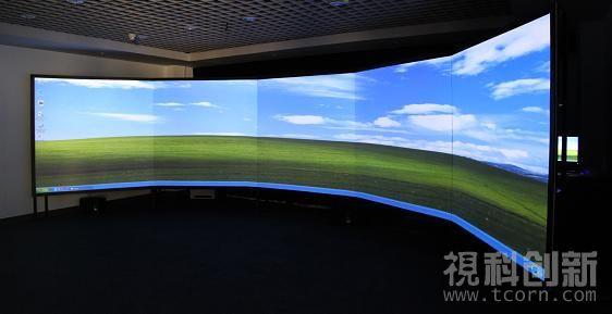 Tcorn vis3000 三通道桌面边缘融合一体式图形工作站
