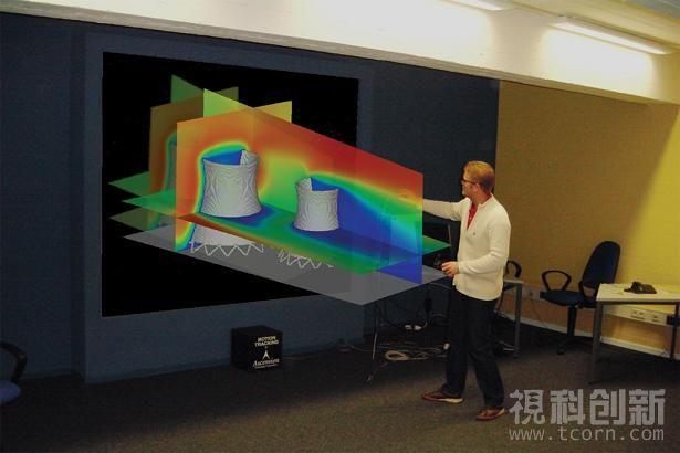 视科创新单通道主动式3D立体投影解决方案