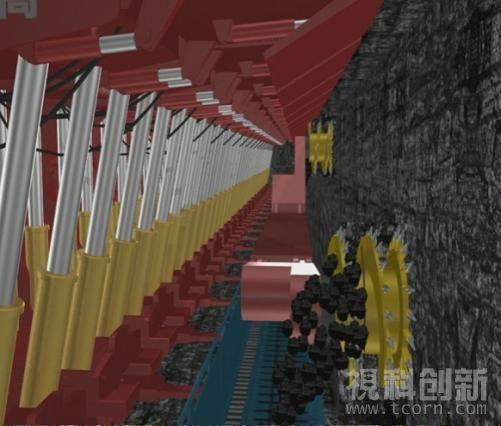 三维数字矿山虚拟现实可视化管理